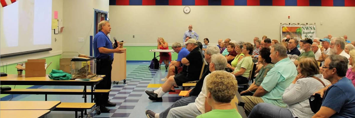 Northwest Cape Coral residents meeting on issues.