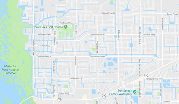 northwest-cape-coral-neighborhood-association-map
