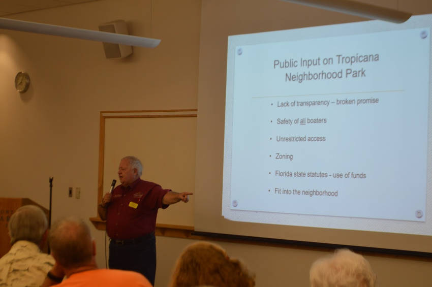 northwest cape coral rick williams talks about tropicana park