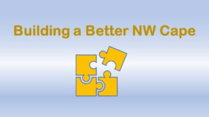 Picture of puzzle piece saying Building a Better NW Cape