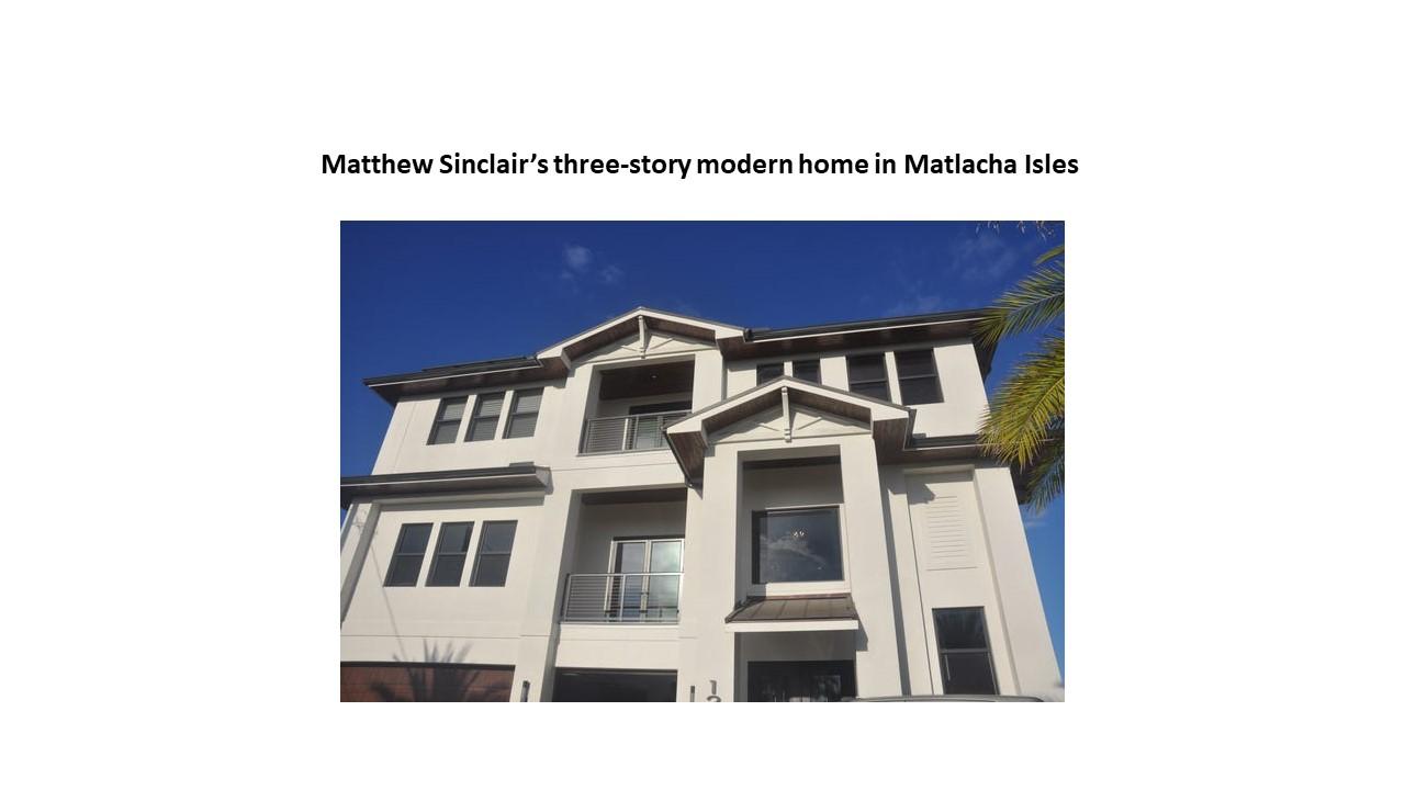 Matthew Sinclair House