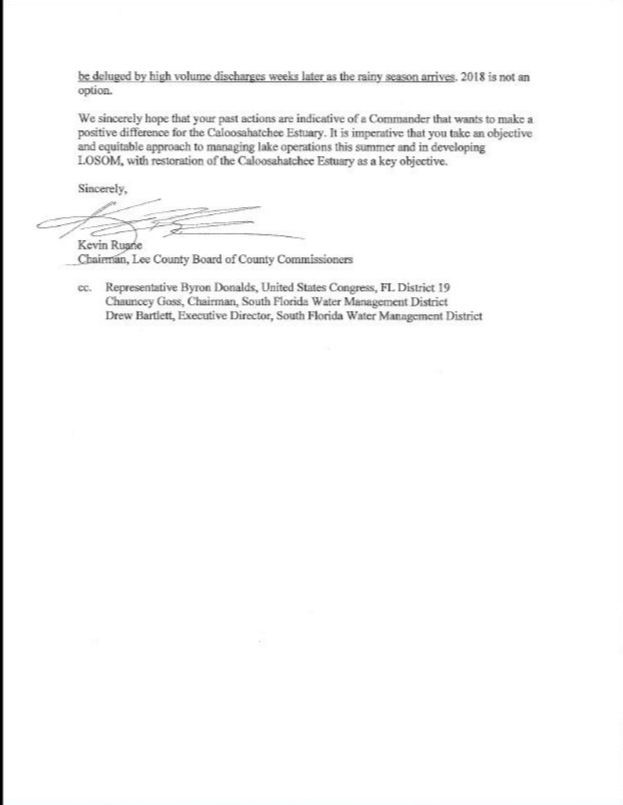 Commisioners Letter pg 2