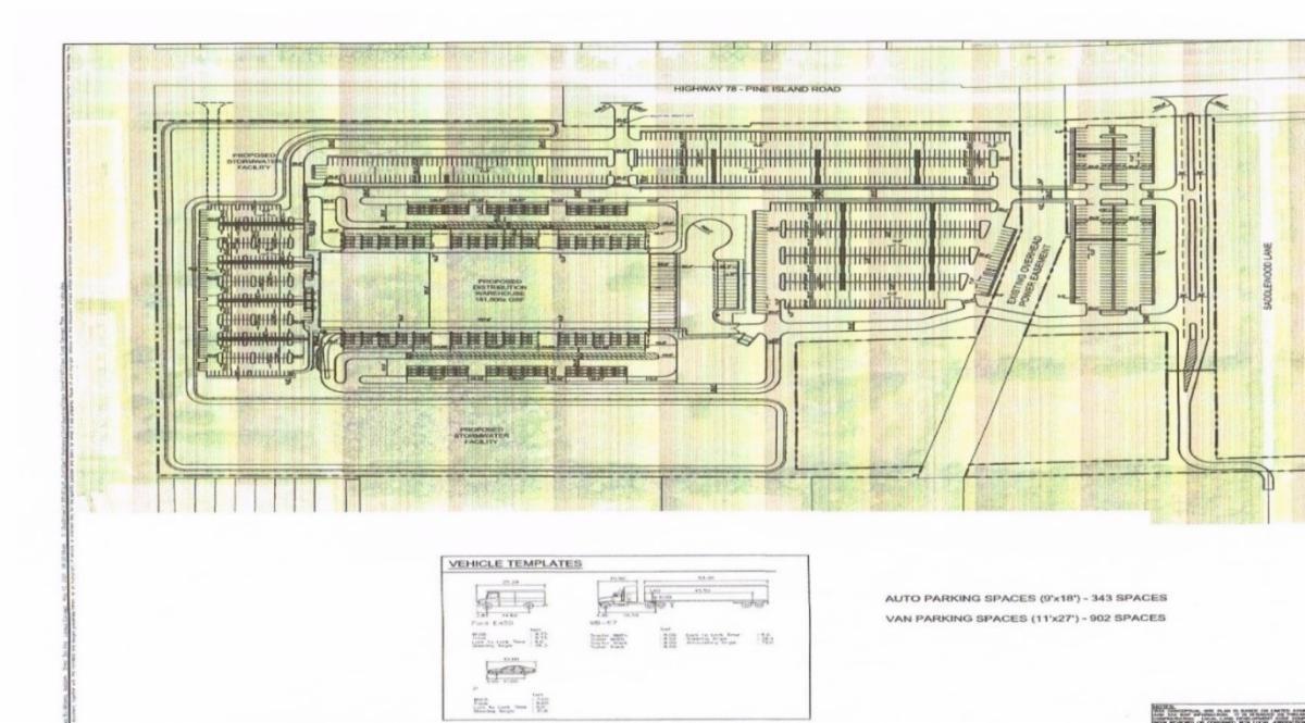 Picture of Distrubtion Center Concept Plan