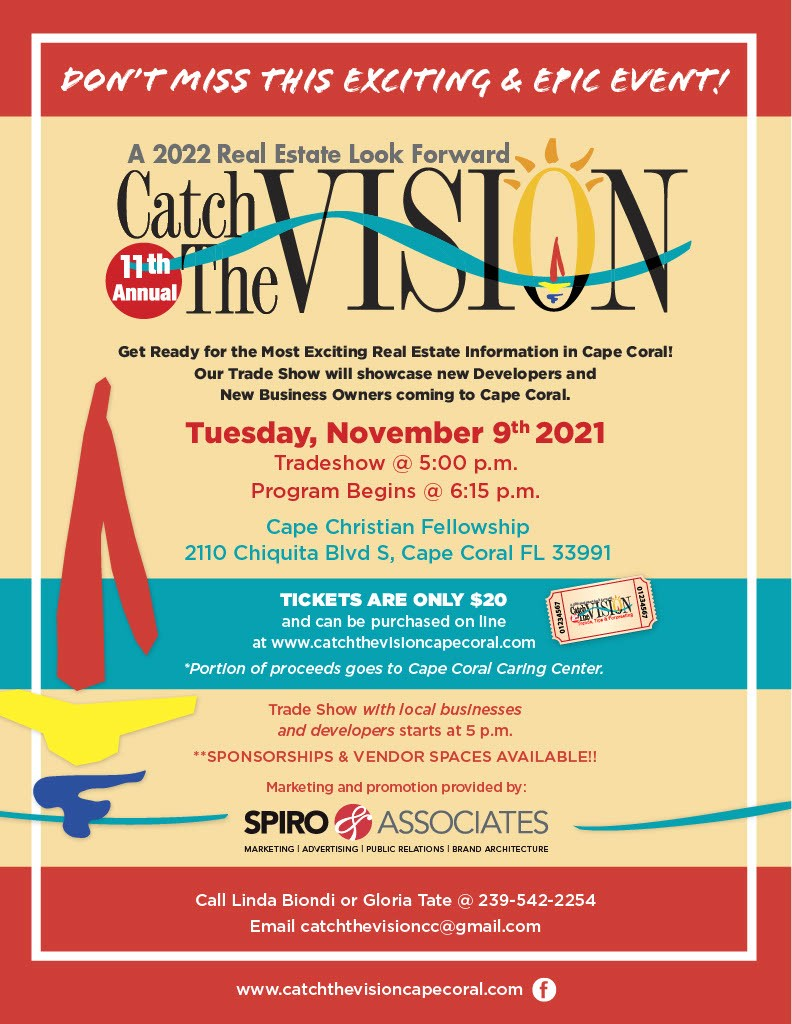 Flyer for Catch the Vision