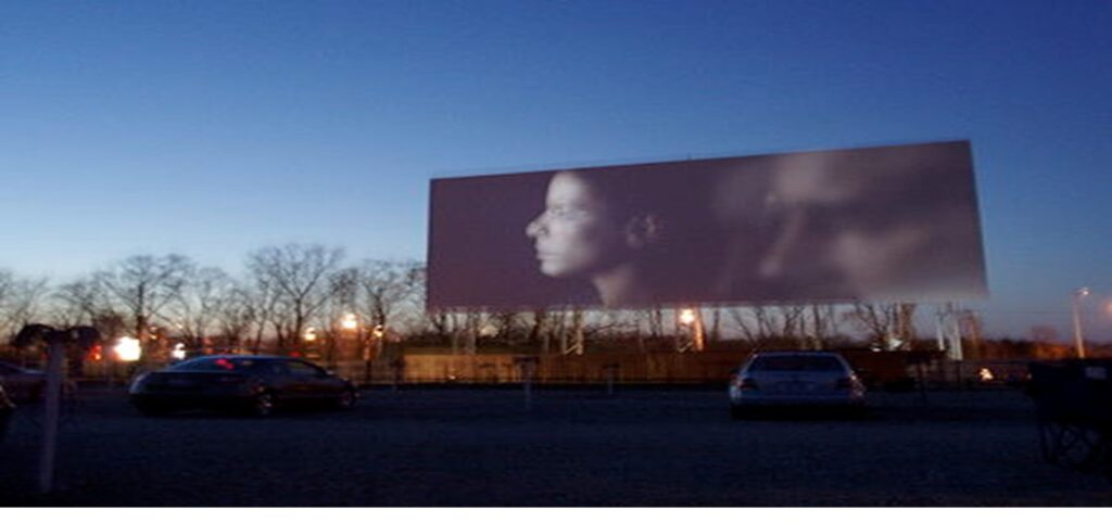 Picture of Drive-In Movie screen